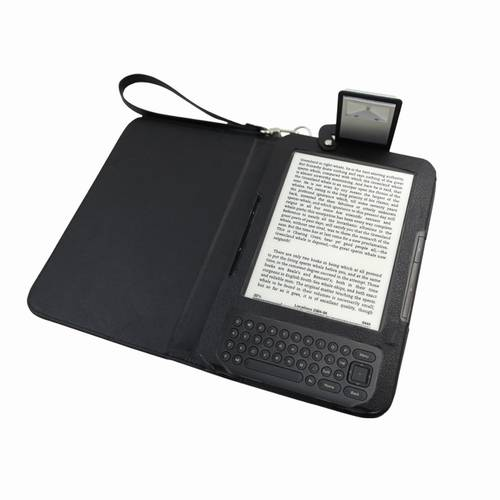 Luxury soft leather case with built in led light for for House key cover with light