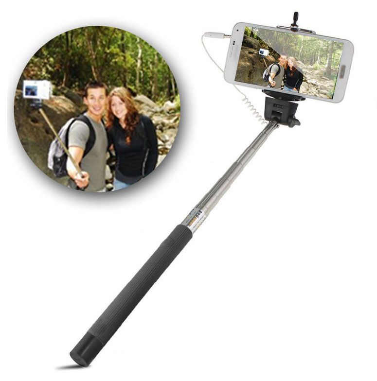 selfie stick for iphone samsung and other mobile phones. Black Bedroom Furniture Sets. Home Design Ideas