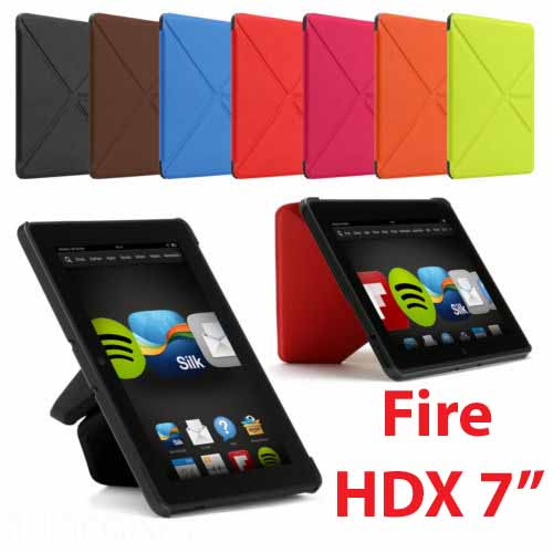 brand new c9d85 99aca Kindle Fire HDX 7 Origami Slim Case Cover