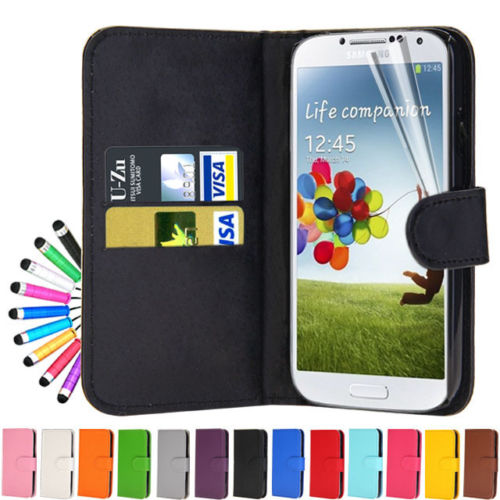 Samsung Galaxy S4 Wallet Case Cover