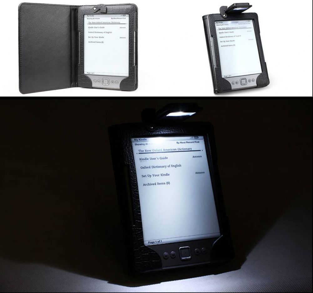 Amazon kindle 4 case with built in led light for Amazon casa