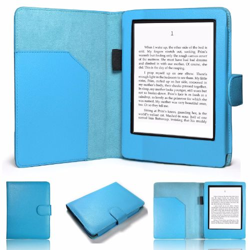 "Amazon Kindle 6"" E-Reader Folio Case Cover"