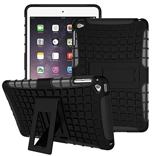 iPad Air 2 Shock Resistant Bumper Back Cover