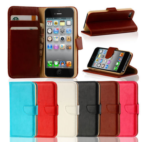 iPhone 4 / 4S Premium Wallet Case Cover