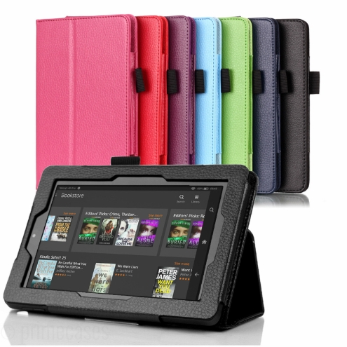 Kindle Fire HD 6 Premium Case Cover