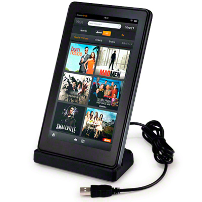 kindle fire usb charging dock