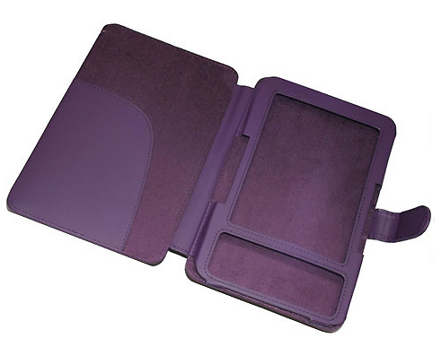 Kindle Keyboard Purple Folio Case