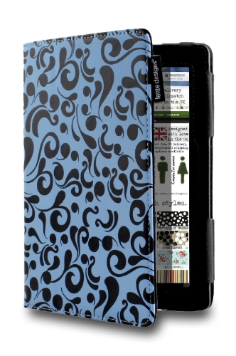 "Lente Designs® Amazon Kindle Fire HD 7"" (3rd Gen, 2013) Waterflow Case"