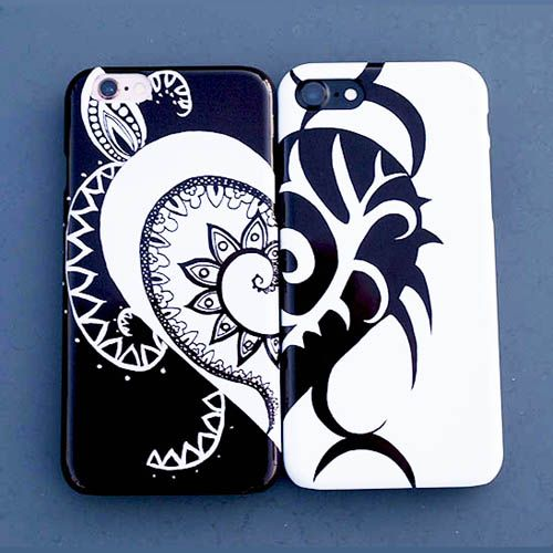 Reflections of Love Phone Cases
