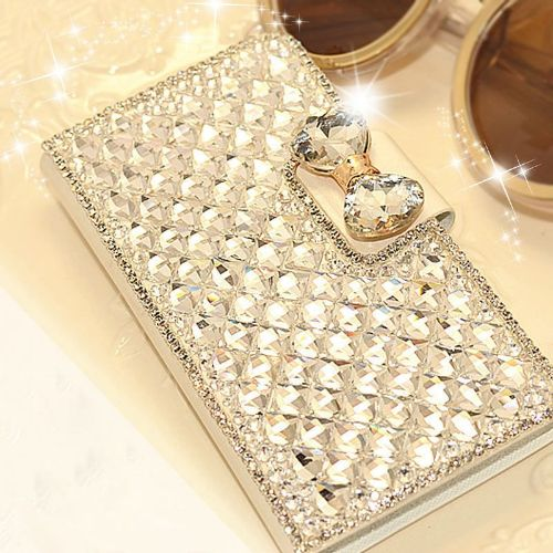 Samsung Galaxy S5 Mini Bling Crystal Case Stand Cover
