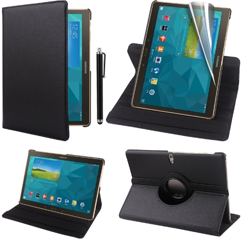 Samsung Galaxy Tab S 10.5 360 Swivel Stand Case Cover