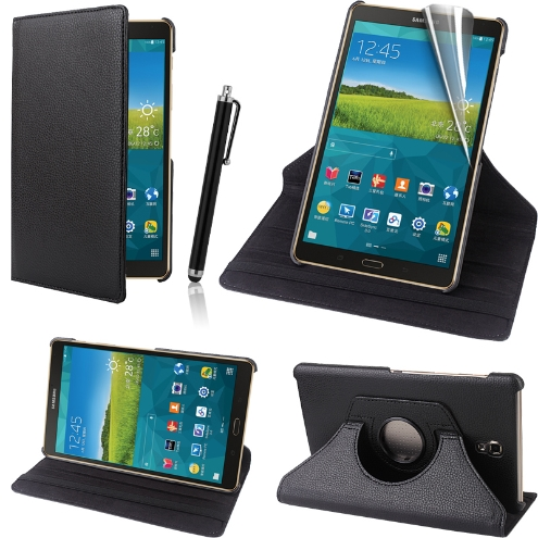 Samsung Galaxy Tab S 8.4 360 Swivel Stand Case Cover